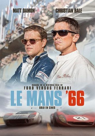La última de Matt Damon : Le Mans '66