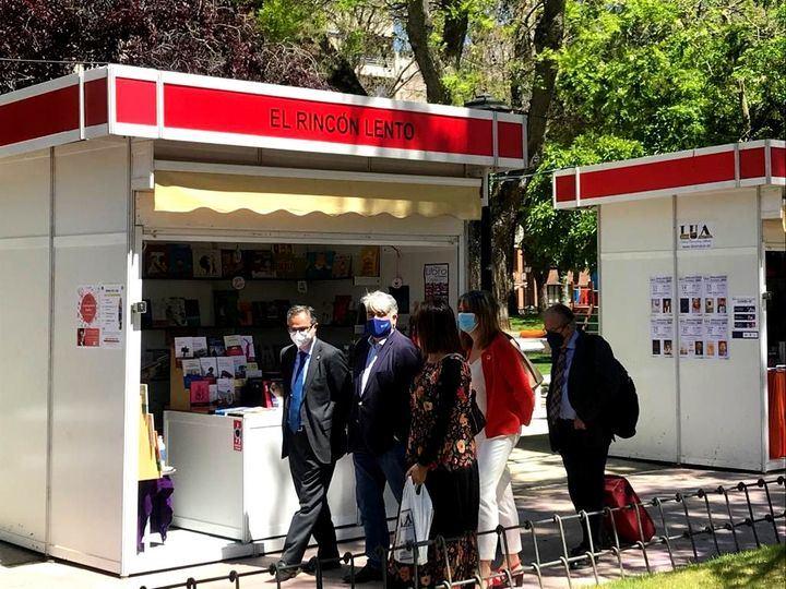 La Universidad de Alcalá presenta sus novedades editoriales en la Feria del Libro de Guadalajara