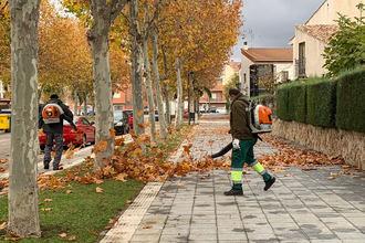 El gasto municipal en limpieza se ha incrementado en Azuqueca en 237.000 euros este año, debido a la COVID-19