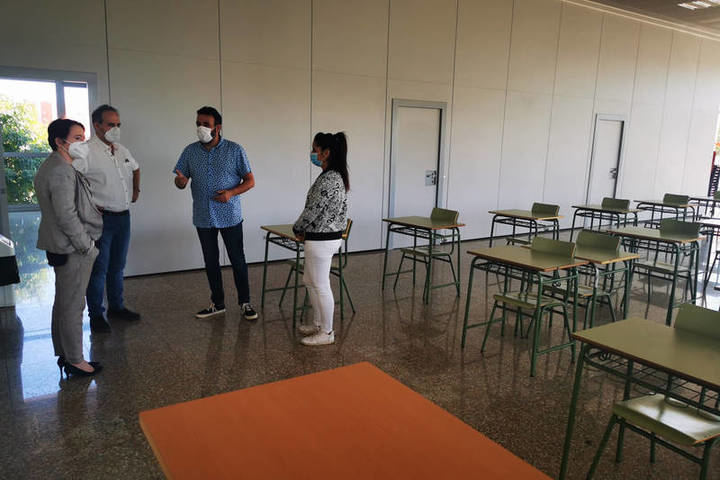 El Ayuntamiento de Azuqueca pone todos los recursos a disposición de un inicio de curso seguro con cesión de espacios e incremento de limpieza