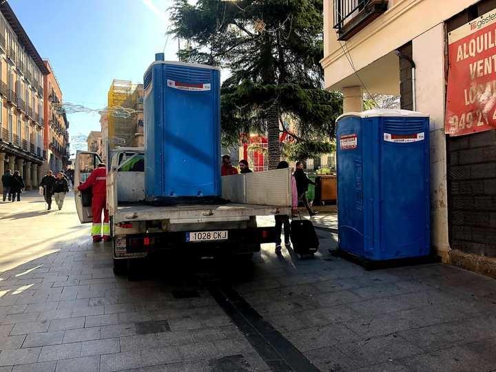 El Ayuntamiento de Guadalajara pone en marcha un dispositivo especial de seguridad y limpieza con motivo de los vermús navideños del 24 y 31 de diciembre