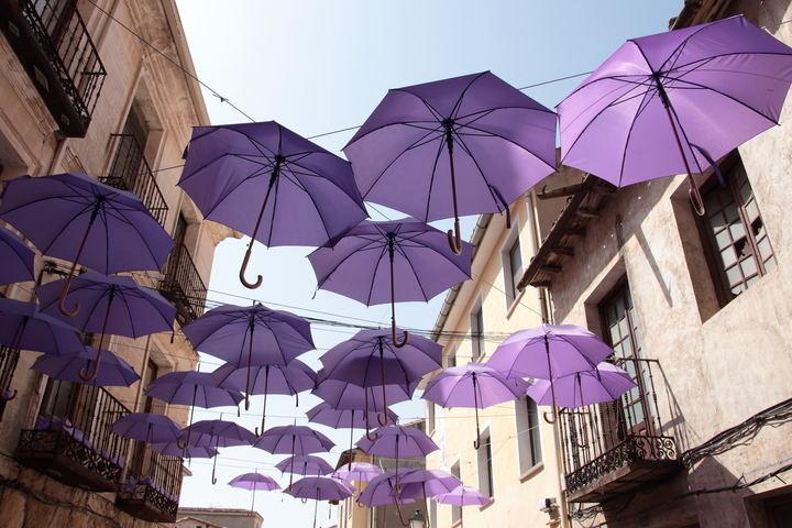 Domingo de paraguas en Guadalajara con 6ºC de mínima y 17ºC de máxima
