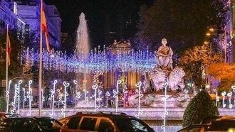 11 millones de bombillas 'led' adornarán la Navidad en Madrid este año