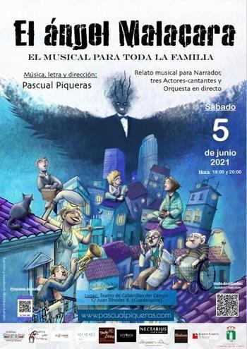 Cabanillas acogerá el estreno nacional del musical «El ángel Malacara»