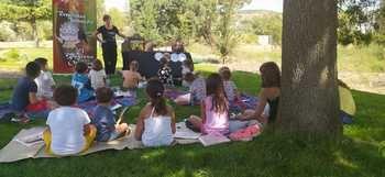 Cuentacuentos medioambiental en Málaga del Fresno
