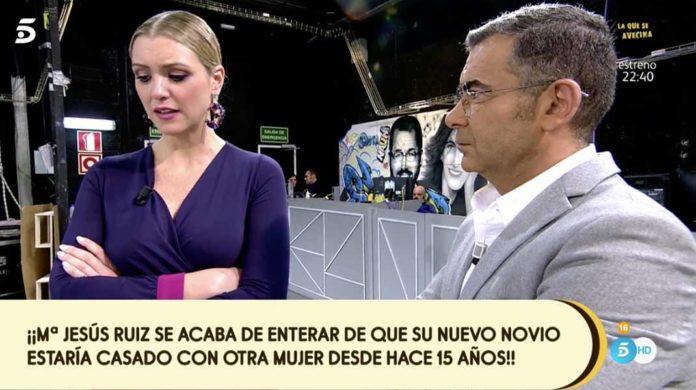 SEMANA María Jesús Ruiz se entera en directo que su novio está casado