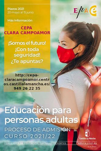 Abierto el periodo de inscripción para la Escuela de Adultos en Yunquera