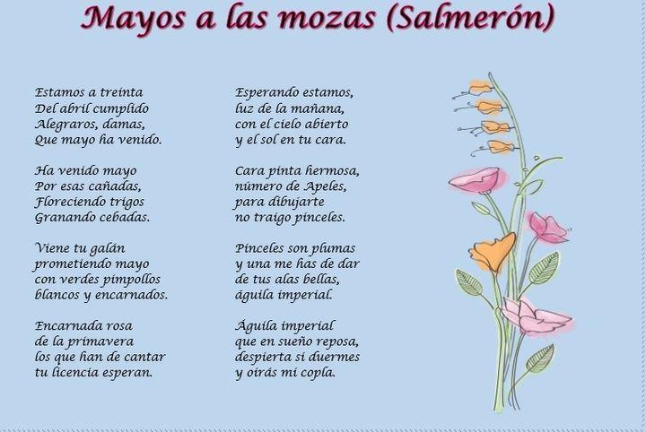 Los Mayos de Salmerón saldran como cada año, esta vez virtualmente