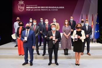 """Guadalajara rinde un emotivo y merecido homenaje """"a las personas que resultaron ser clave en la lucha contra el coronavirus"""""""