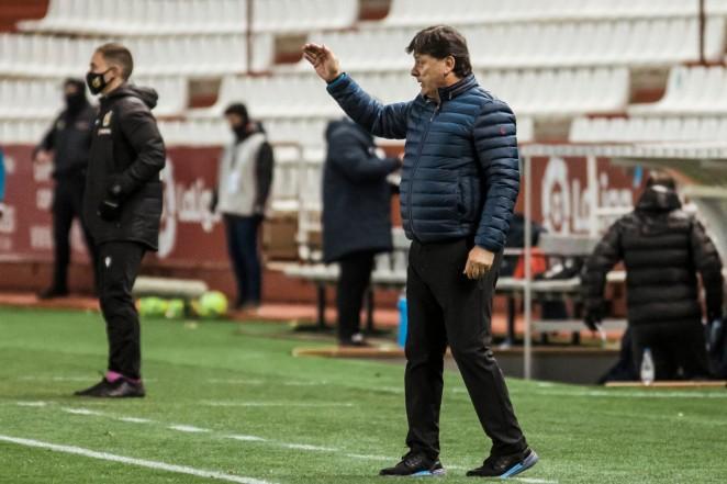 """Menéndez:""""Puntuar es importante, pero en Alcorcón hay que ganar"""""""
