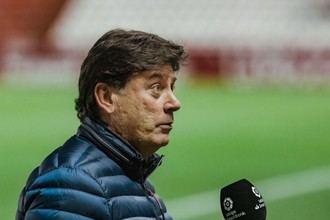 """Menéndez: """"El equipo ha salido muy reforzado con este partido"""""""
