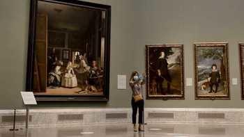 Las obras del Prado ahora...en los teléfonos móviles