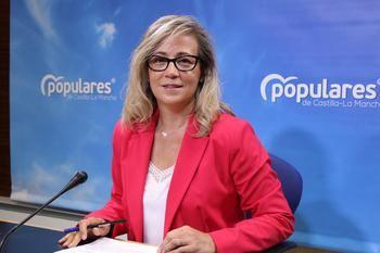 """La portavoz parlamentaria del PP espera que Page no vuelva """"a caer en el mismo error"""" de la """"falta de previsión"""" como tuvo """"al comienzo de la pandemia"""""""