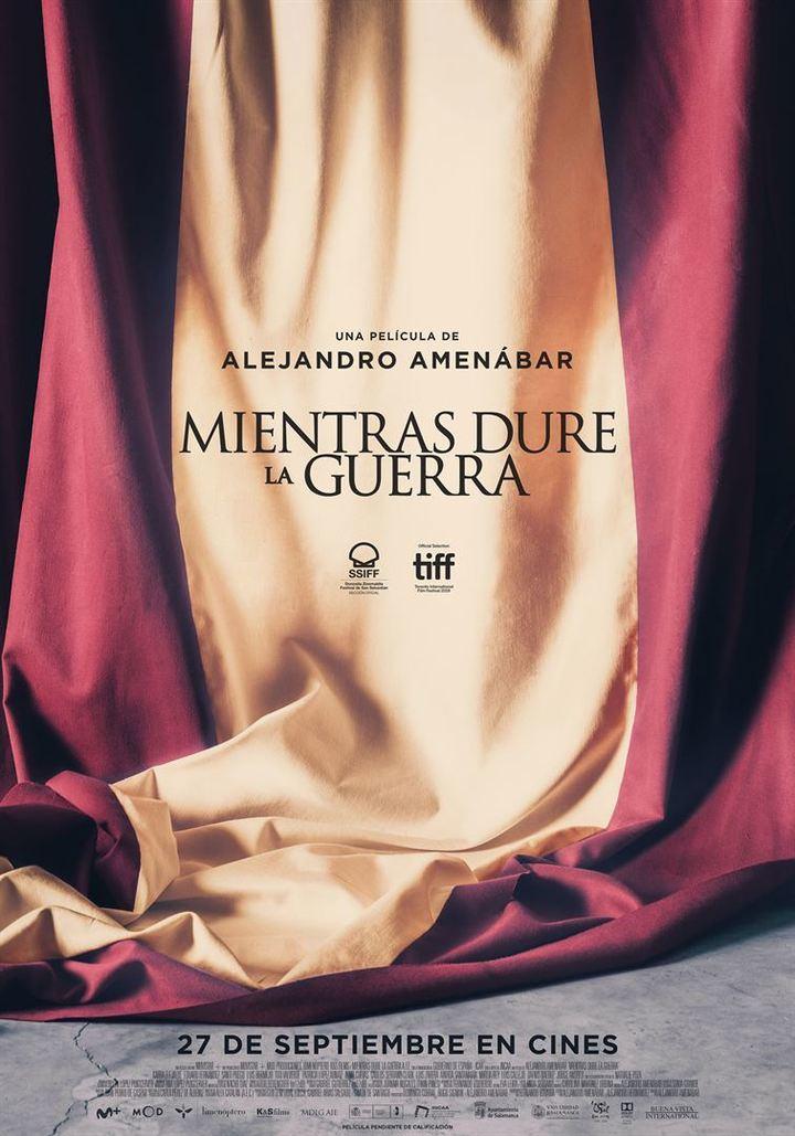 La útlima de Alejandro Almenábar : MIentras dure la guerra