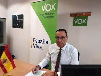"""El Grupo VOX exige a Rojo una rectificación y disculpas públicas """"por frivolizar y generar confusión y crispación entre los vecinos de Guadalajara"""""""
