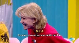 Mila se pasa siete pueblos con Hugo Castejón en la casa de