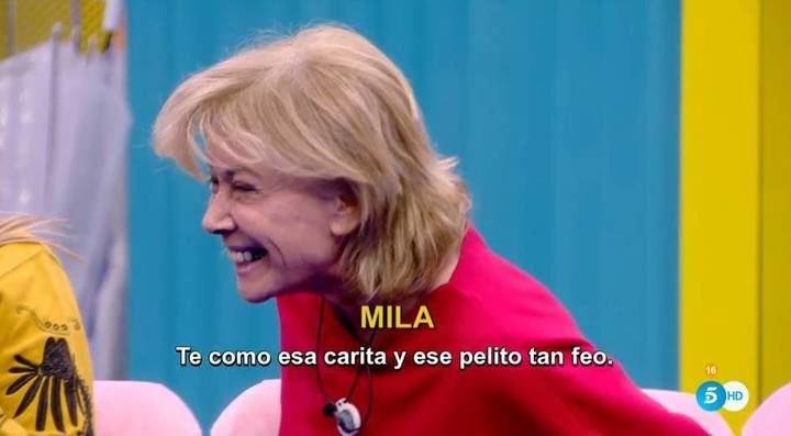 """Mila se pasa siete pueblos con Hugo Castejón en la casa de """"GHVIP"""""""