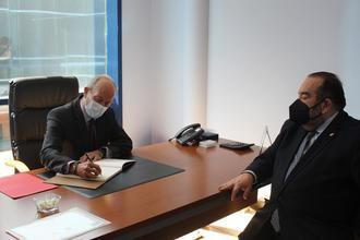 El Ministro de Justicia de España visita la sede del Ilustre Colegio de Abogados de Guadalajara
