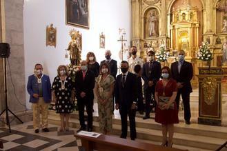 Alovera celebró su misa en honor a la Virgen del Carmen en su festividad local