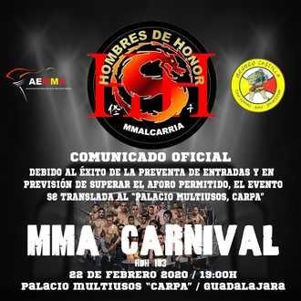 Éxito total del MMA Carnival en Guadalajara