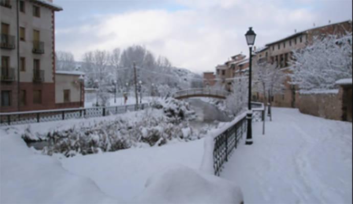 Molina de Aragón marca una de las mínimas de Castilla La Mancha con 11,6 grados bajo cero