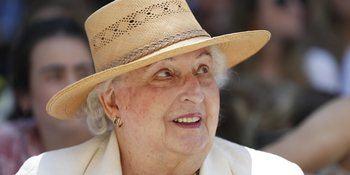 Muere a los 83 años la infanta Pilar de Borbón, la hermana mayor de Don Juan Carlos