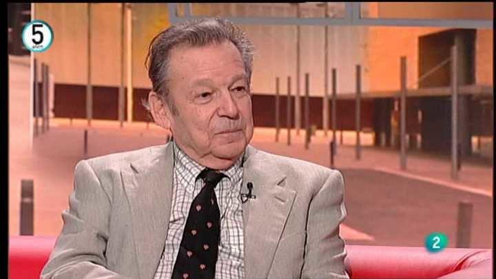 Muere a los 80 años el escritor Luis Racionero