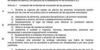 La Policía municipal de Madrid multará a partir de este martes a quien circule sin acreditar una justificación del trabajo