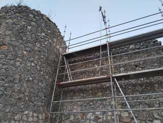 Comienzan las obras de restauración del lienzo de la muralla de Brihuega