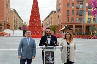 Este viernes, fiesta de bienvenida de Azuqueca a la Navidad en la plaza de La Constitución