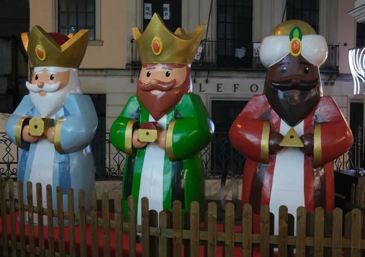 Reyes Magos en Guadalajara. Foto : EDUARDO BONILLA