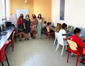 200 niños aloverano han realizado los cursos de informática este verano en Alovera
