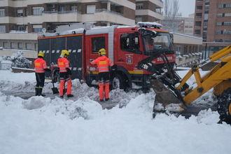 UGT CLM aplaude el ejemplo y pone en valor la dedicación y el compromiso de los trabajadores de los servicios esenciales durante el temporal de nieve