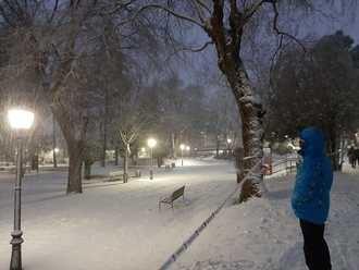 Filomena pone en ALERTA ROJA por nieve a Guadalajara, Madrid, Cuenca, Albacete, Toledo y Valencia