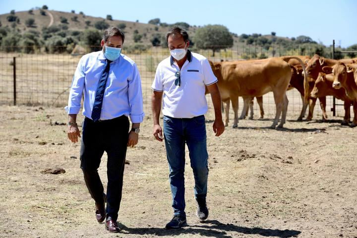 """Núñez envía una carta a Page para exigirle que retire sus guías de consumo para que """"no sean un ataque directo a los ganaderos de la región"""""""