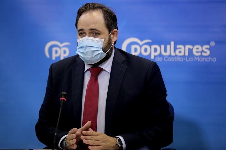"""Núñez propone un Plan de Choque dotado de 30 millones de euros para atajar las listas de espera sanitarias : """"Hoy el tiempo medio de espera para ser operado en CLM es de 286 días mientras que la media nacional se sitúa en 148 días""""."""