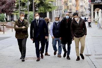 """Paco Nuñez en Guadalajara :""""En Castilla-La Mancha, con un gobierno socialista, las prohibiciones y los cierres suponen la nota dominante en la forma de gobernar"""""""