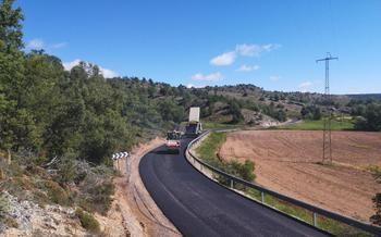 Se inician las obras de mejora de la CM-2017 entre Anquela y Turmiel, en la provincia de Guadalajara