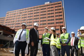 Podemos Guadalajara denuncia la falta de presupuesto para la finalización y puesta en marcha del Hospital de Guadalajara