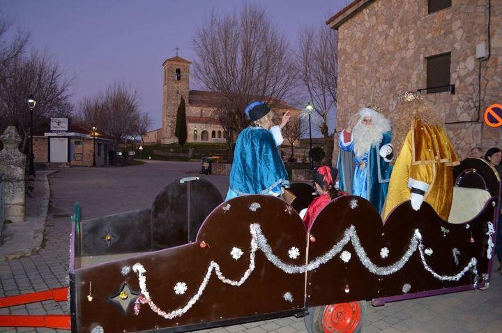 El Umbral del Ocejón recibió la visita de los Reyes Magos