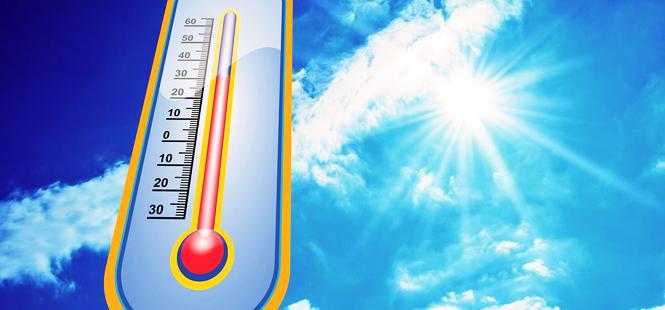 Una masa de aire muy cálido africano hará que el mercurio llegue este lunes en Guadalajara a los 35ºC