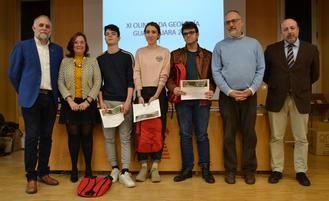 Álvaro García, David Bote y Cecilia Canalejas ganadores de la fase territorial de la XI Olimpiada de Geología