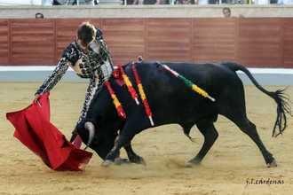"""Alrededor de 2.000 personas llenaron los tendidos de la Plaza de Toros """"La Sagra"""" en la novillada de Semifinal del Certamen sin caballos."""