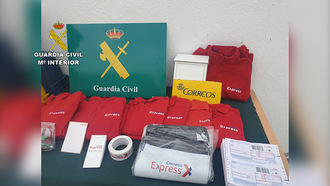 La Guardia Civil de Toledo detiene a dos estafadores que se hacían pasar por trabajadores de correos para conseguir cartas dirigidas a otras personas