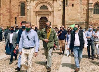 Ortega Smith refrenda en Sigüenza la importancia del mundo rural para VOX