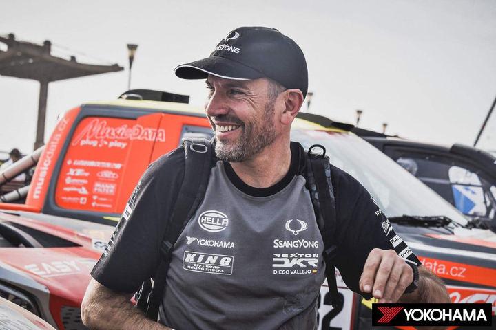 """Óscar Fuertes, con ganas de saborear """"más alegrías"""" en el Dakar"""
