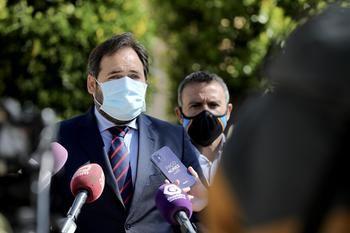"""Paco Nuñez critica en Alovera que Page, cada vez que comparece públicamente, lo hace para """"abroncar, reñir y enfadarse"""" con los castellano-manchegos"""