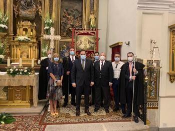 Paco Núñez participa en el Corpus Christi de El Casar