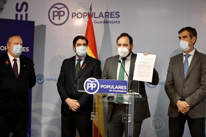 Paco Nuñez dice en Guadalajara que los nueve diputados nacionales del PSOE-CLM PODRÍAN HABER EVITADO la aprobación de la Ley Celaá con sus votos ayer en el Congreso