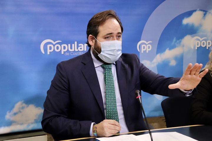 """Núñez censura que el Decreto con las medidas restrictivas se publique """"de madrugada"""" tras una tarde en la que Page """"no daba respuesta"""" a las preocupaciones de los ciudadanos"""